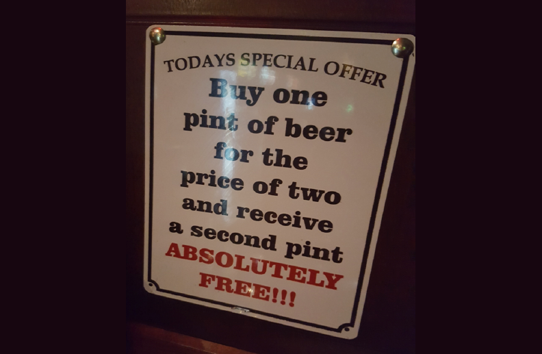 Cheers to a Special Offer!